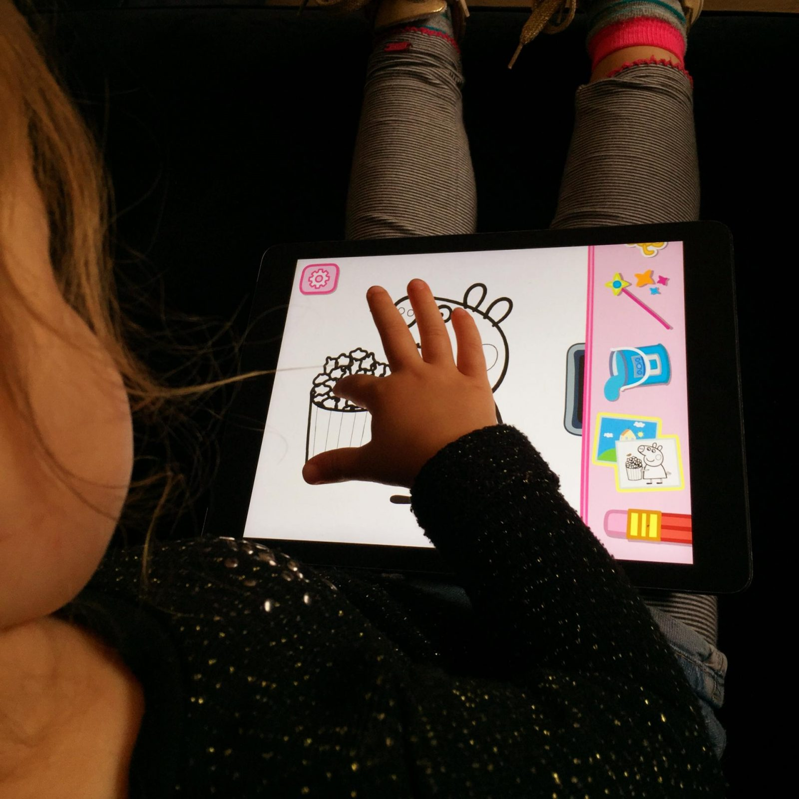 Review Peppa Big Paintbox app