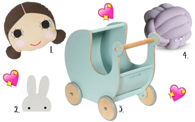 Accessoires voor in de kinderkamer, kidsinterior, nursery, babykamer o.a. van de merken Sebra, Charlie & Jae, Cozykidz