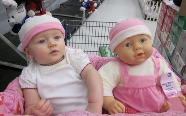8 kinderen die sprekend op hun pop lijken