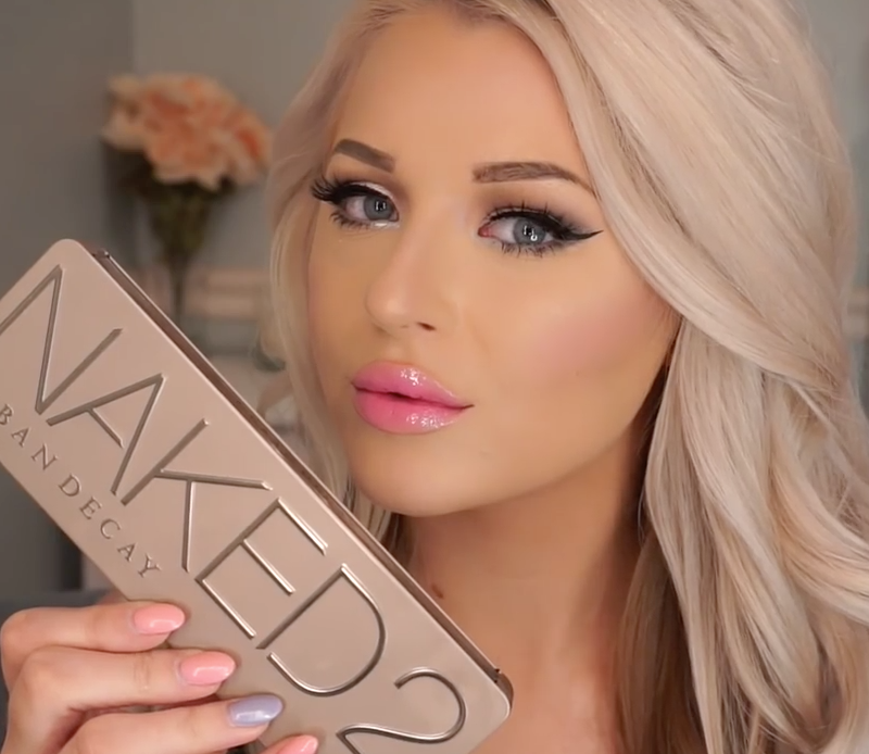 Urban Decay Naked 2 Palette Makeup Tutorial Babs Beauty
