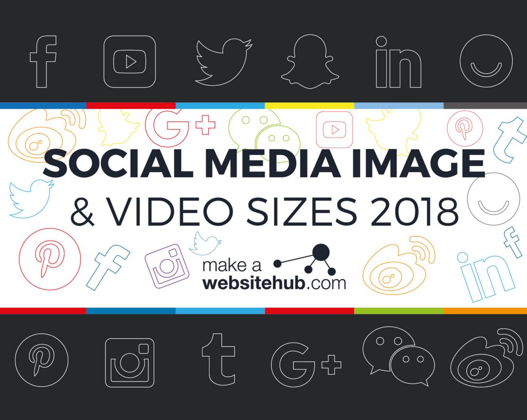 Super handig overzicht: afmetingen van alle socialmedia voor 2018