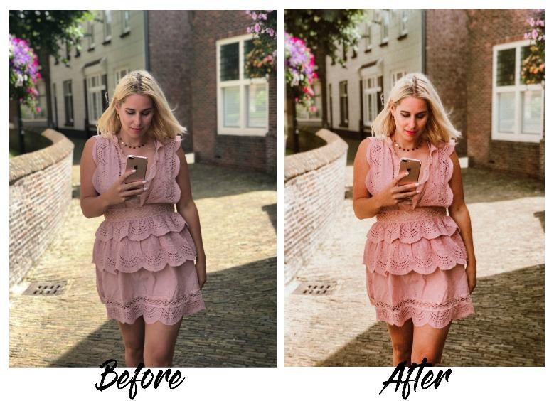 before & after preset lightroom