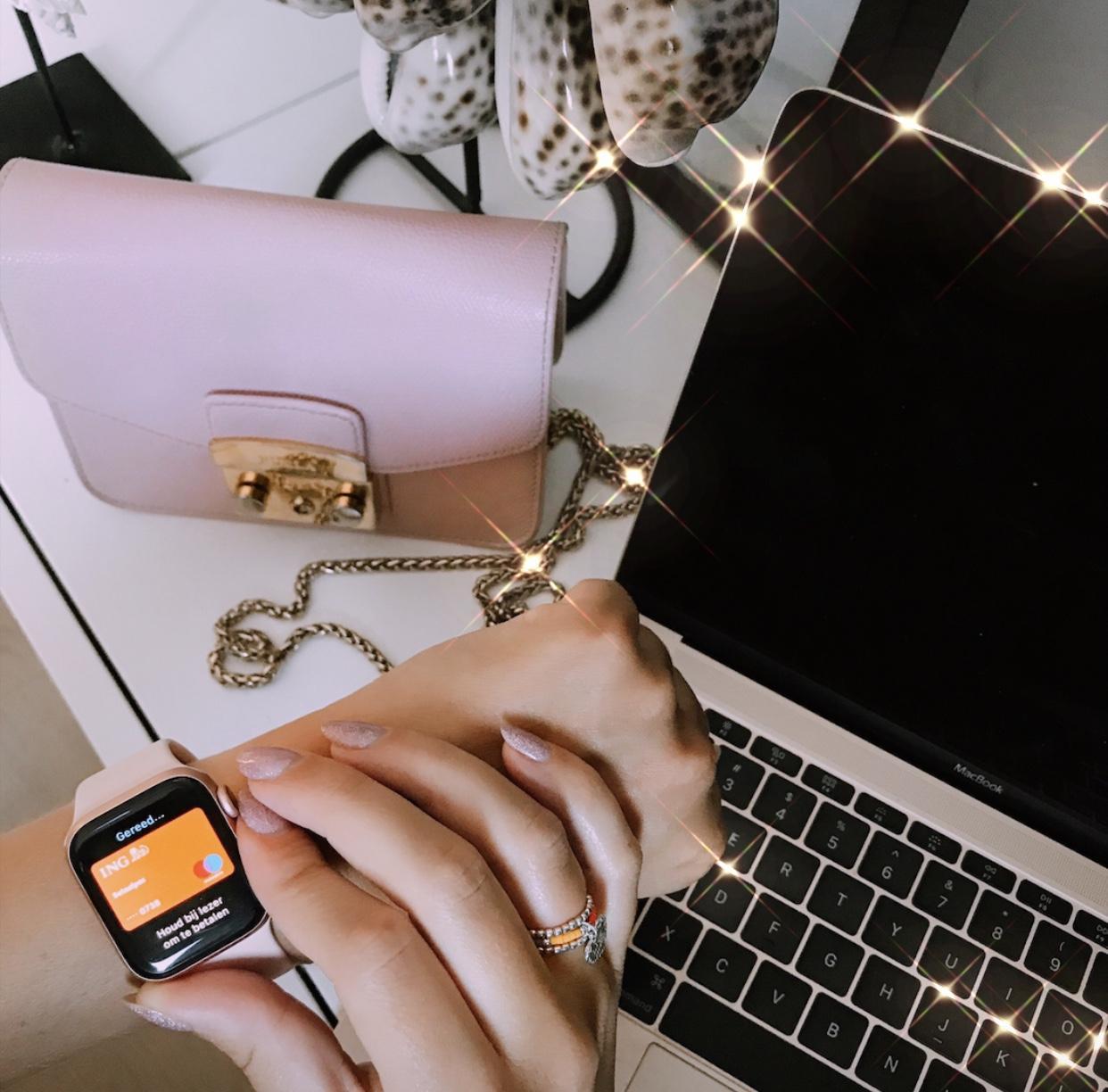 betalen via Apple Pay met een apple watch