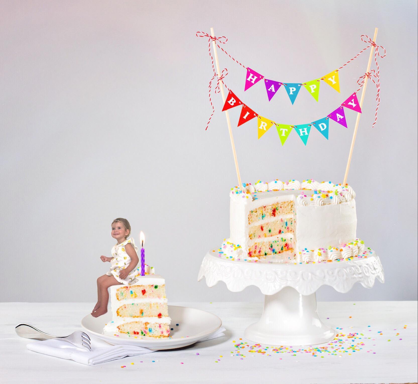 Birthdaycake tutorial