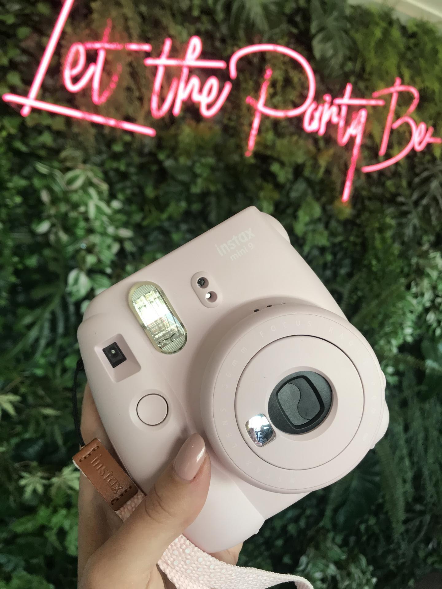 instax camera  mini 9 baby roze