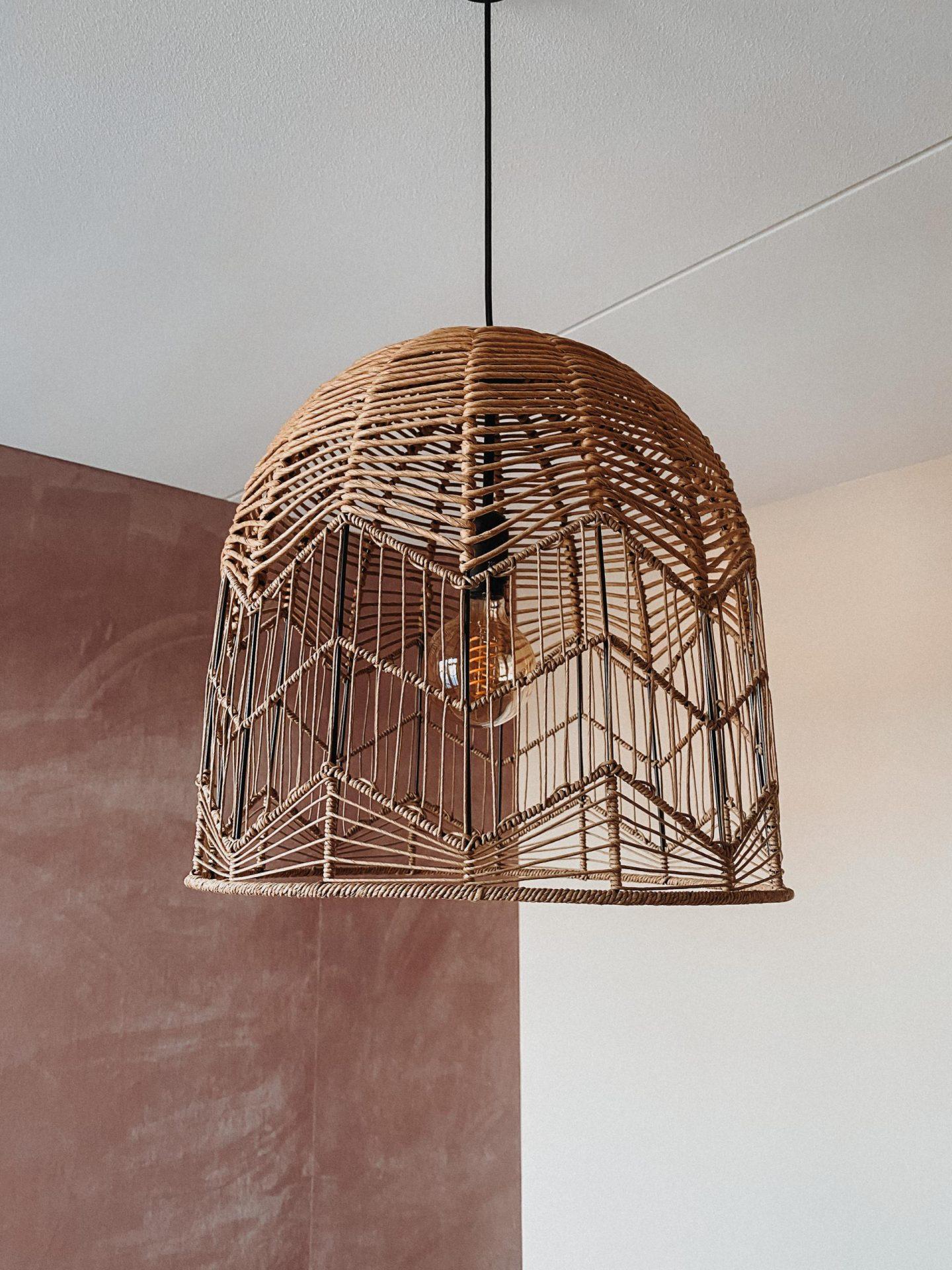 Philips Hue filament in Kwantum Feronia hanglamp