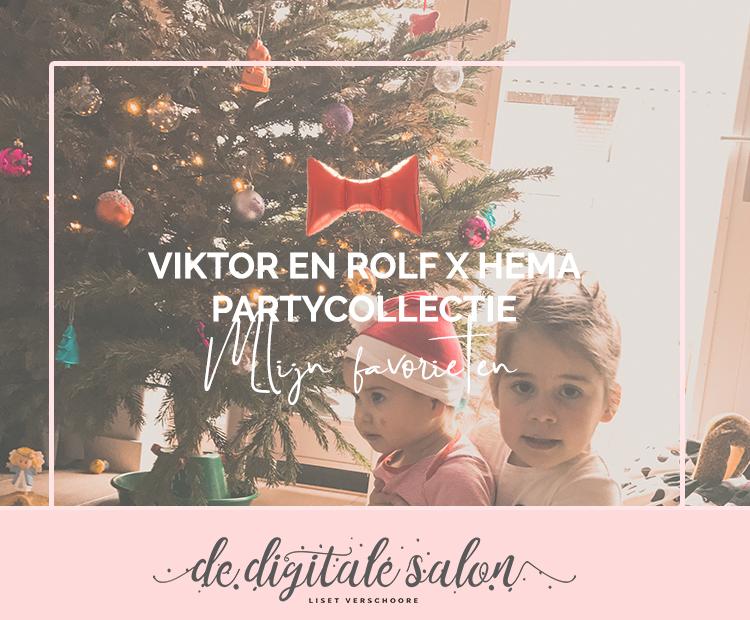 Mijn favorieten uit de partycollectie van Hema x Viktor en Rolf